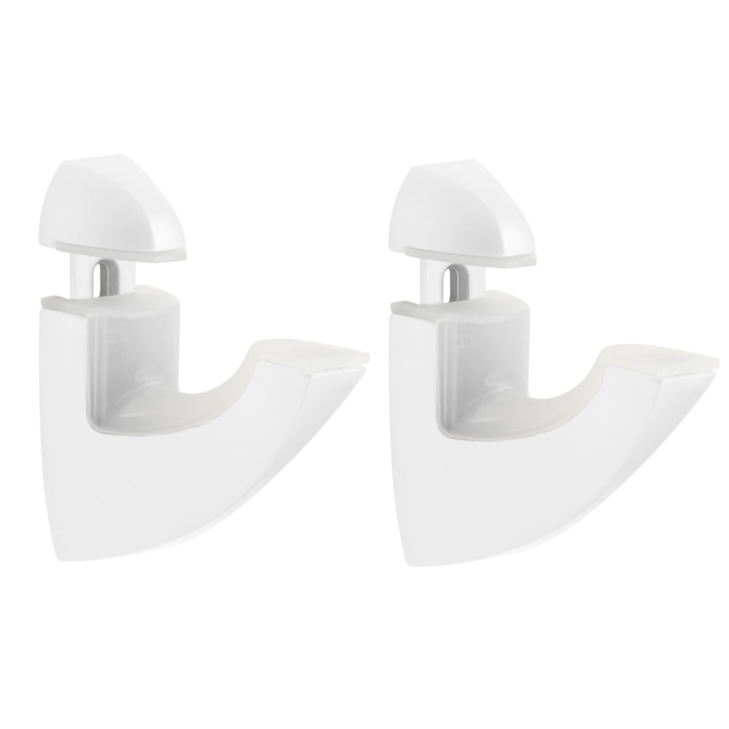 Dolle SCOOP Metal Shelf Bracket set - White