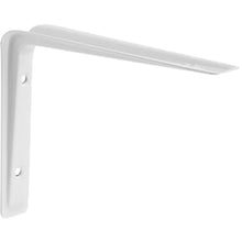 "Load image into Gallery viewer, ALTURA Metal Shelf Bracket - 6.75"" - White"