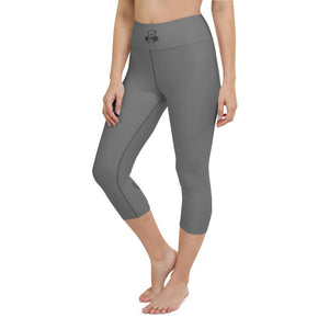 Grey Capri Leggings