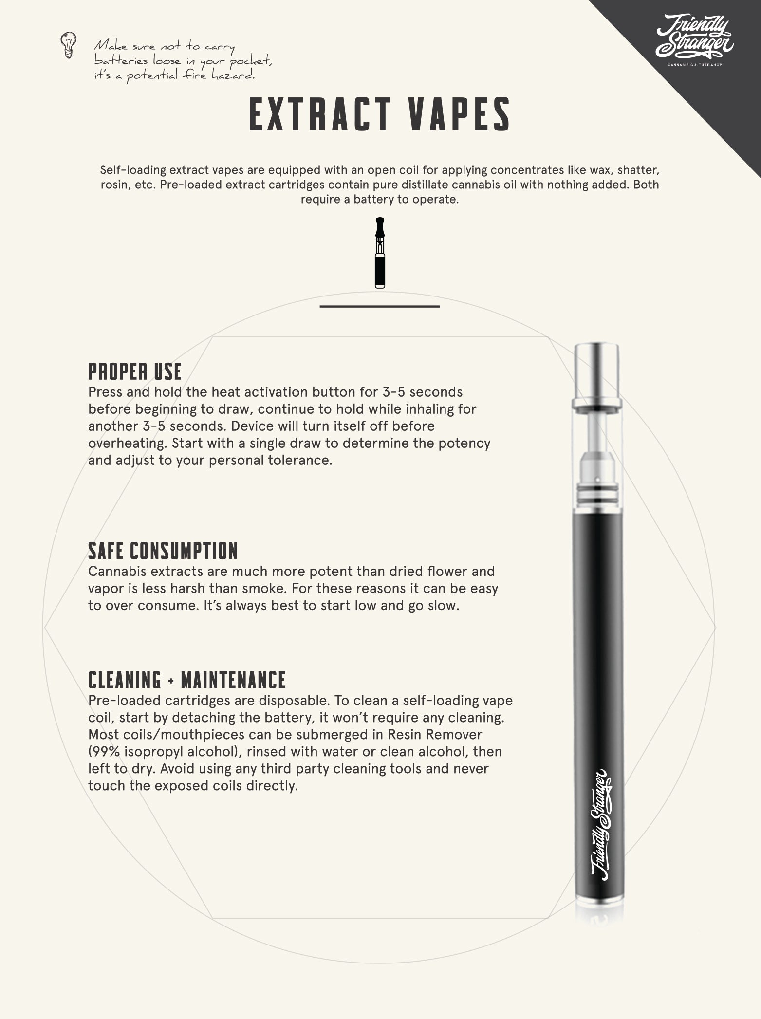 Extract Vapes Education