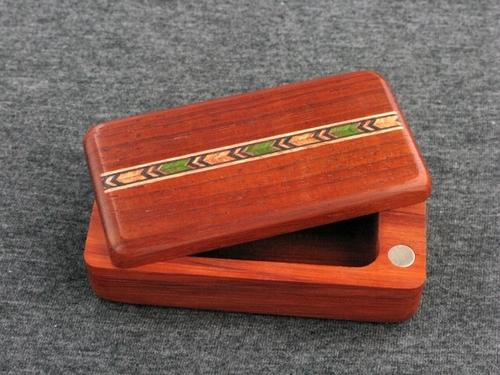 Inlaid Padauk Magnalock Box