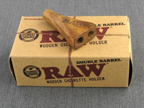 Raw Double Barrel Holder - 1.25