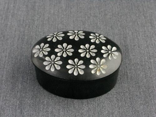 Mini Black Stone Box Asst