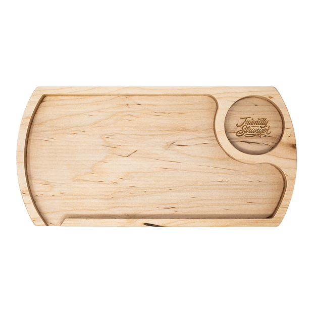 Friendly Stranger Rolling Tray - Maple