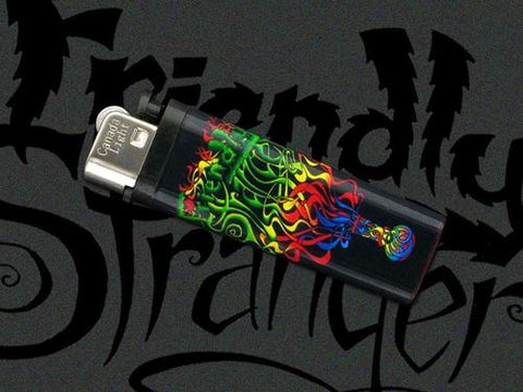 Friendly Psychedelic Logo Lighter