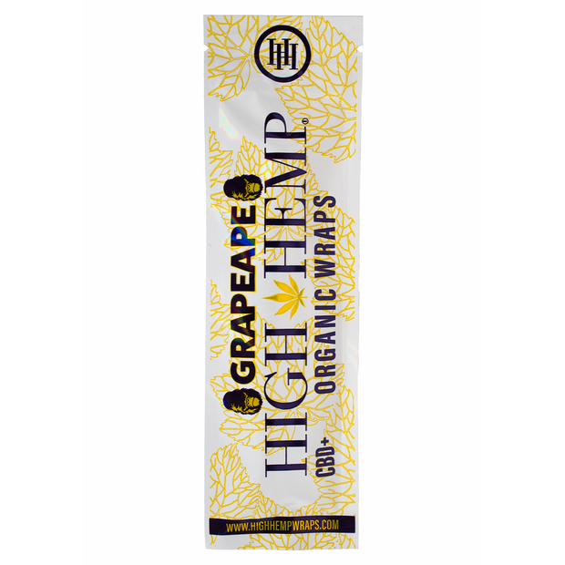 High Hemp Organic Wraps - Grapeape