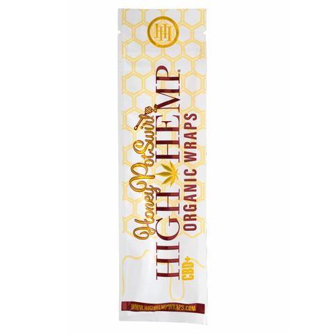 High Hemp Organic Wraps - Honey Pot Swirl