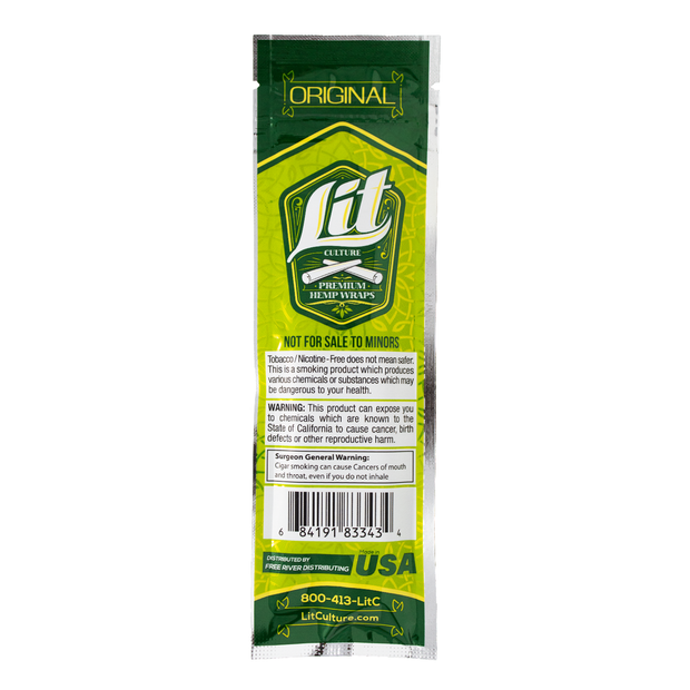 Lit Hemp Wraps - Original
