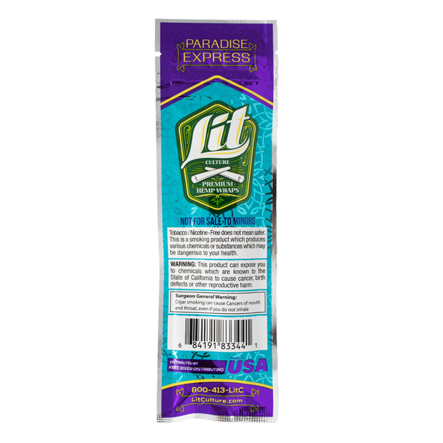 Lit Hemp Wraps - Paradise Express
