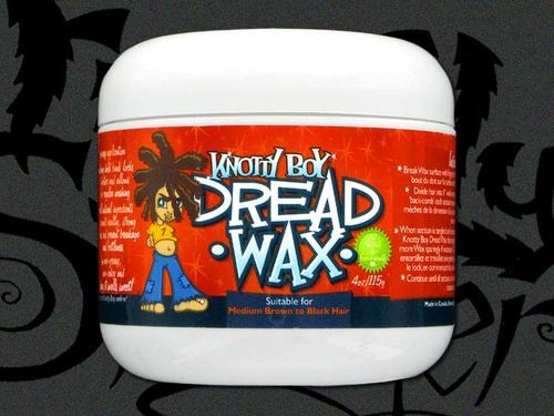Knotty Boy Dread Wax 4oz. Dark