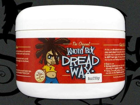 Knotty Boy Dread Wax 8oz. Light