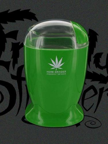 Green - Electric Herb Grinder