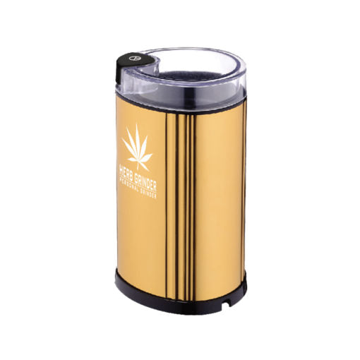 Electric Herb Grinder - Gold