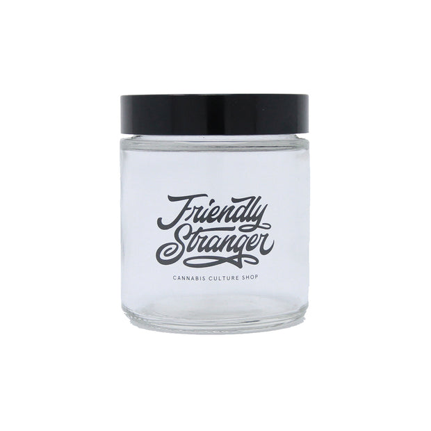 Friendly Stranger Clear Jar - Medium