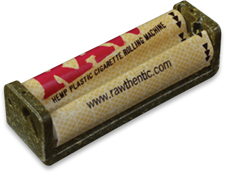 Raw Hemp Plastic Roller - 1.25