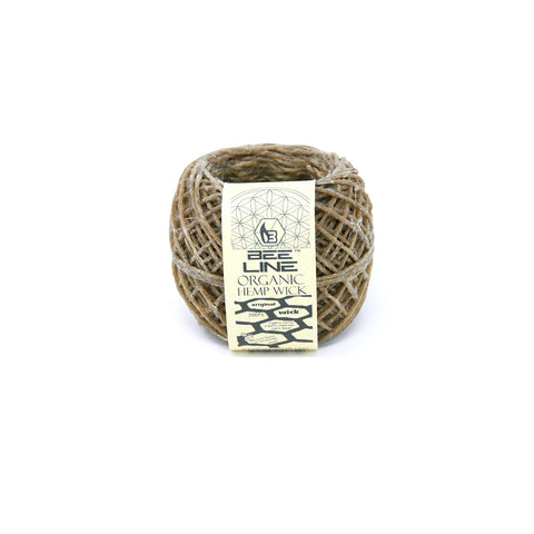 Bee Line Hemp Wick - 200 Foot - Spool