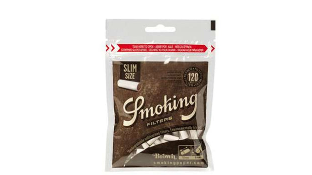 Smoking Brown Filters - Slim