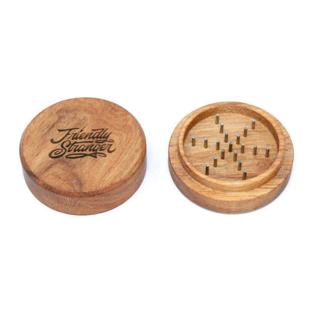 "Friendly Stranger Wood Grinder - 2.5"" (2pc)"