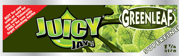 Juicy Jay's Green Leaf - 1.25