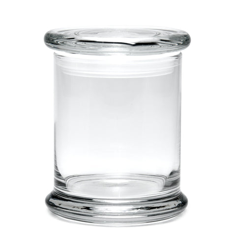 420 Science Large Clear Pop Top Jar - Blank