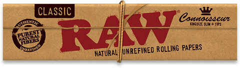 Raw Connoisseur Pack + Tips - King Size