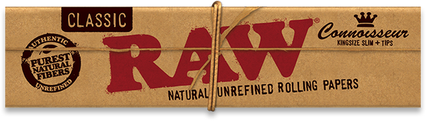 Raw Classic Connoisseur (Papers/Filters) - King Size