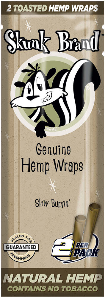 Skunk Brand Genuine Hemp Wraps