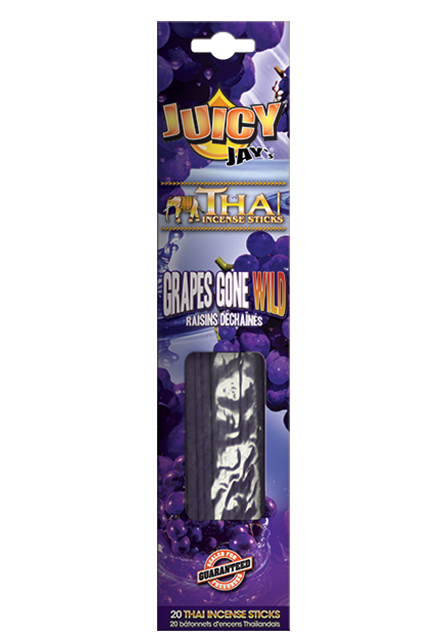 Juicy Thai Incense Grapes Gone Wild - 20 Sticks