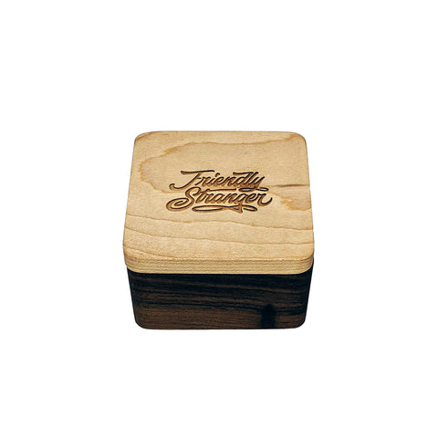 FS Wood Jar - Square