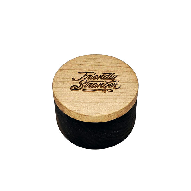 FS Wood Jar - Round