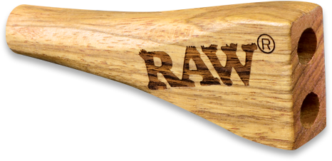 Raw Double Barrel Holder - King
