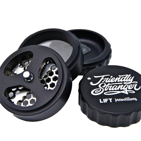 "Friendly Stranger LIFT Grinder - 2.5"" (4pc)"