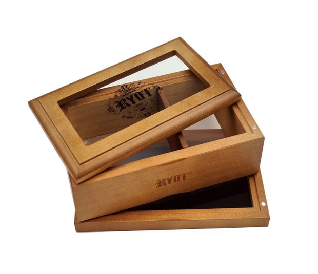 RYOT Glass Top Sifter Box - Small