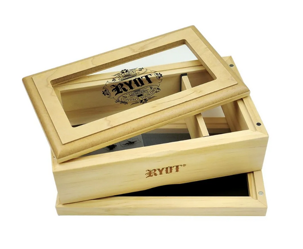 RYOT Glass Top Sifter Box - Medium