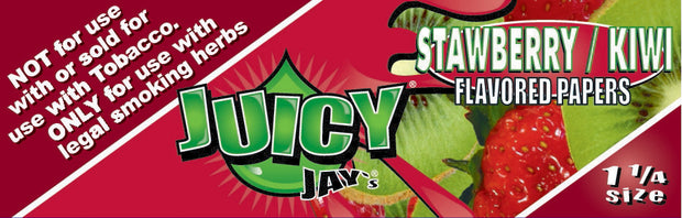 Juicy Jay's Strawberry Kiwi - 1.25
