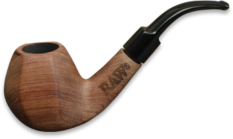 Raw Natural Bubinga Pipe