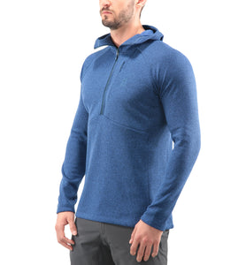 Lightweight Haglofs Nimble Hooded Top Men Tarn Blue