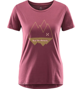 Women tshirt Haglofs Mirth Tee