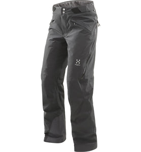 Women ski pant Haglofs Line Insulated Pant Women Black
