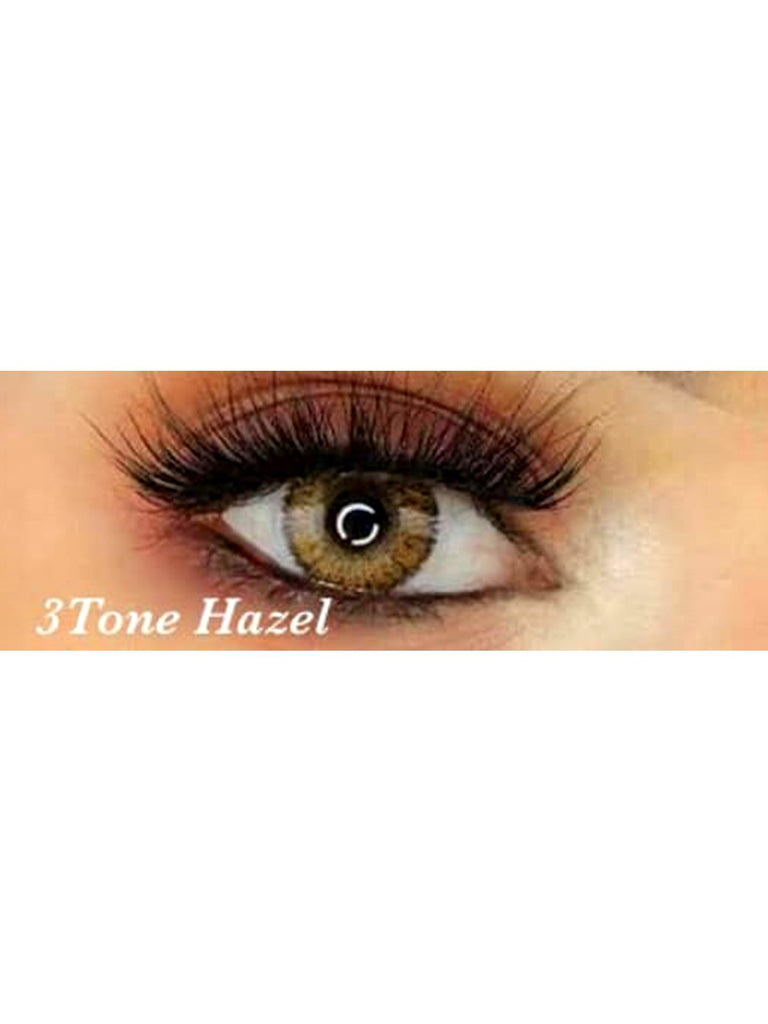 3 Tone Hazel - Shop Human hair wigs, Skin care & 3D eye-lenses/Eyelashes online!