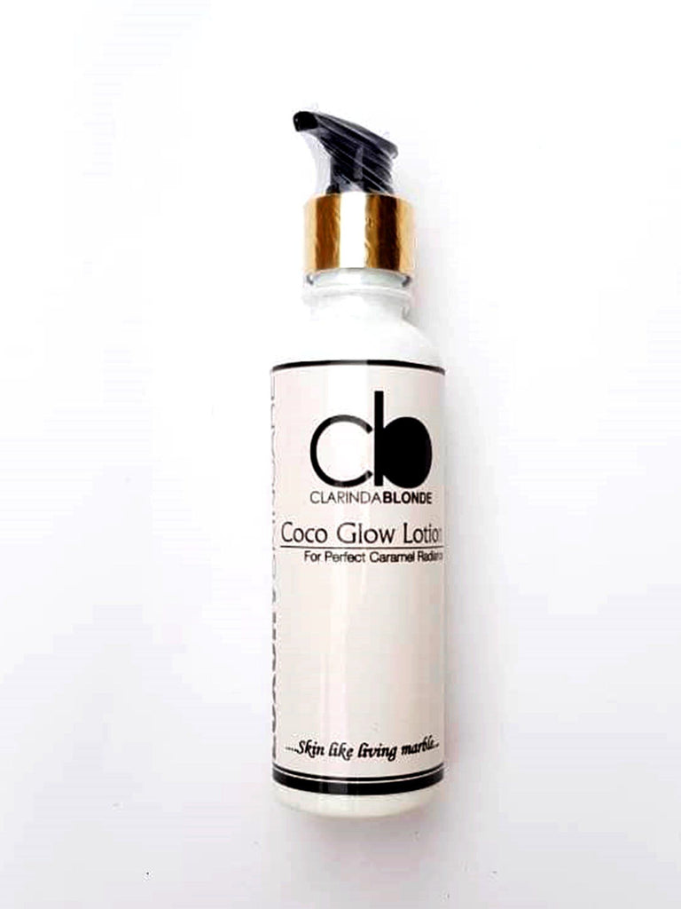 Coco Glow Lotion Skin Care Clarinda Blonde