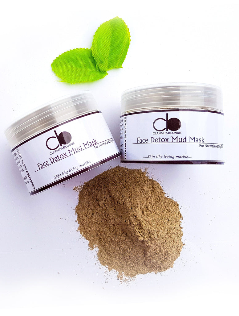Face Detox Mud Mask Skin Care Clarinda Blonde