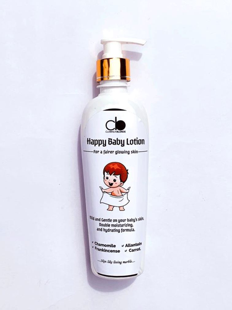 HAPPY BABY LOTION Skin Care Clarinda Blonde