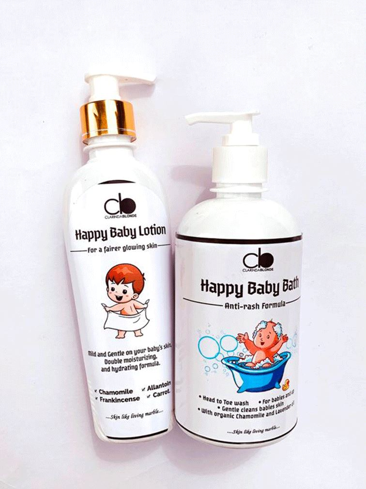 HAPPY BABY SET Skin Care Clarinda Blonde