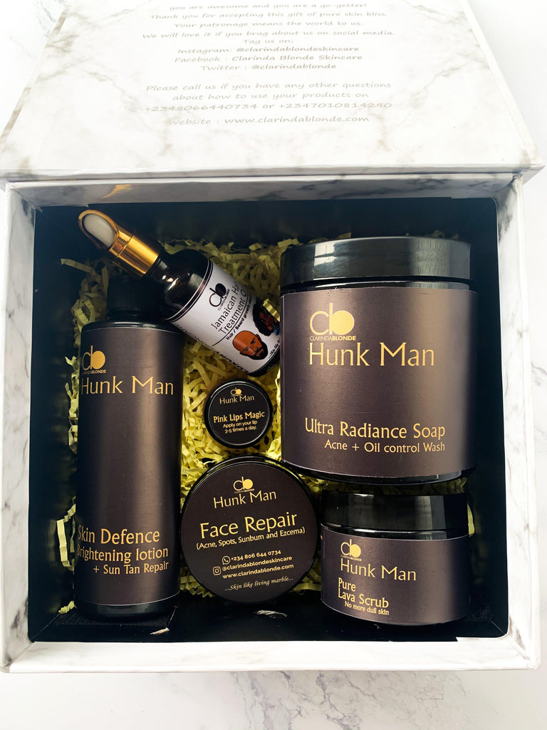 HUNK MAN (Full set) Skin Care Clarinda Blonde
