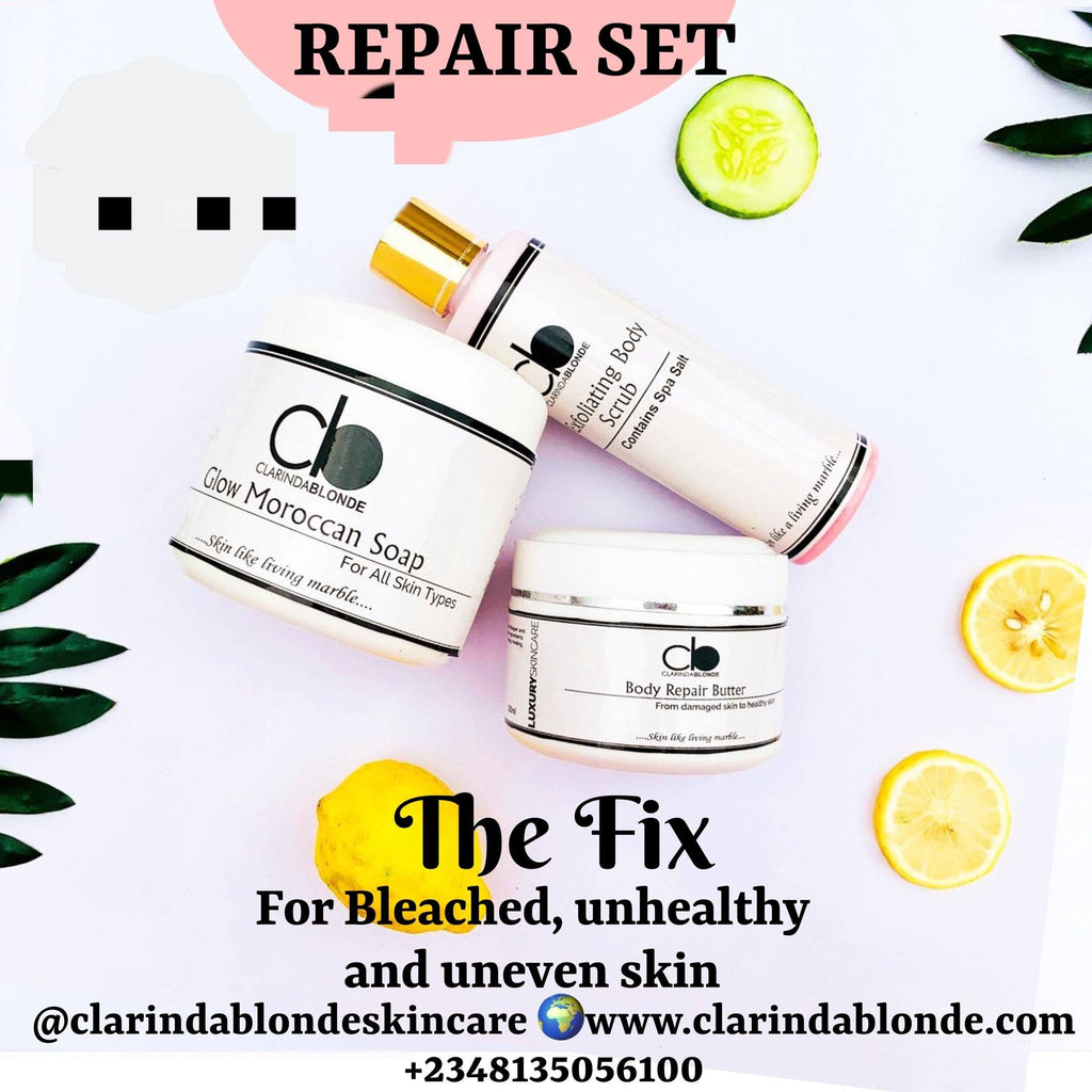 SKIN REPAIR SET Skin Care Clarinda Blonde