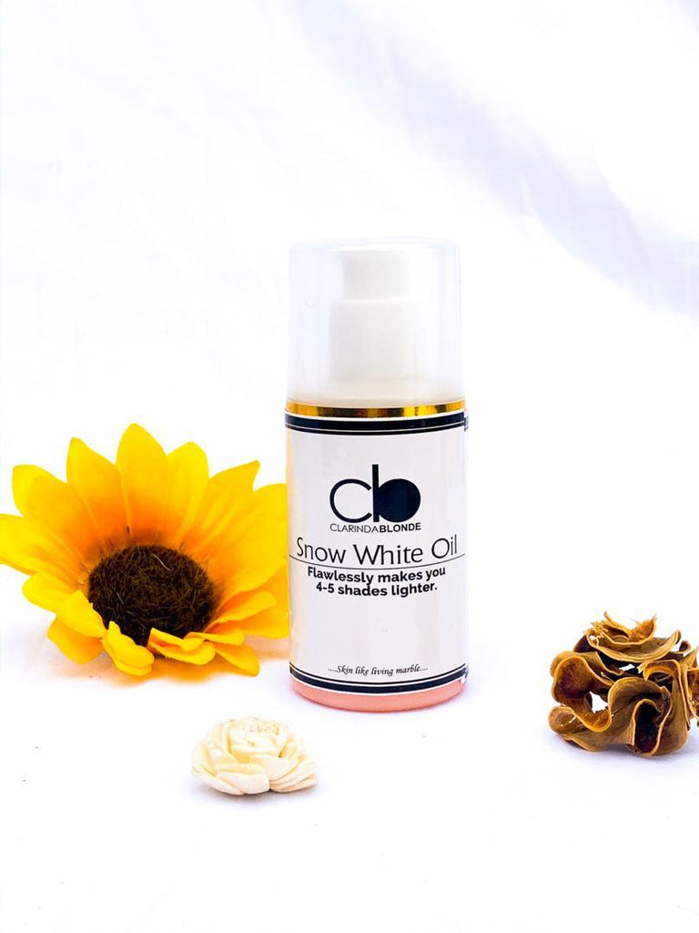 Snow White Oil - Shop Human hair wigs, Skin care & 3D eye-lenses/Eyelashes online!