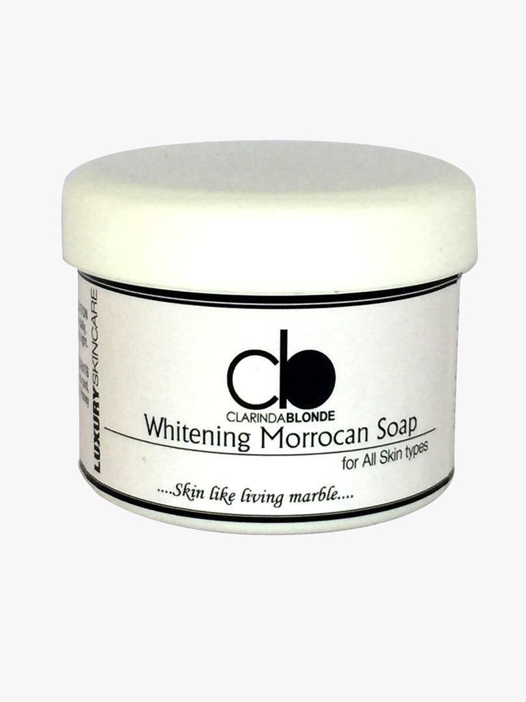 Whitening Moroccan Soap 450ml Skin Care Clarinda Blonde