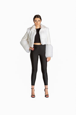Snow White Cropped Jacket