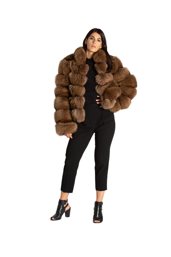 Tan Bubble Coat